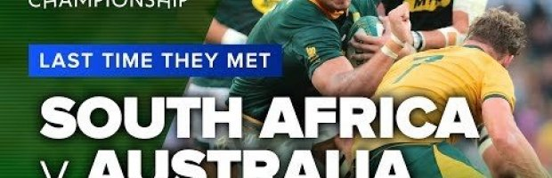 South Africa vs Australia | Last Time They Met