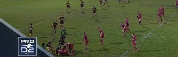 Pro D2 Highlights: Carcassonne vs Aurillac