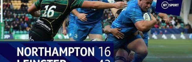 Champions Cup Highlights: Northampton Saints 16-43 Leinster