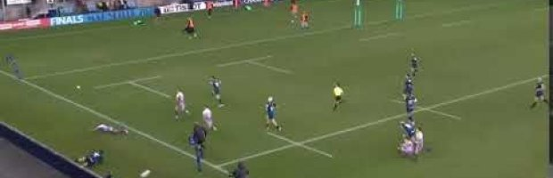 WATCH: Exeter put some great hands together and nearly score