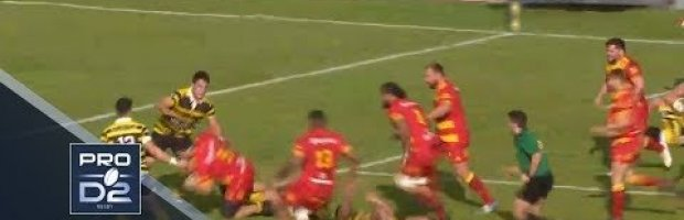 Pro D2 Highlights: Mont-de-Marsan vs Perpignan