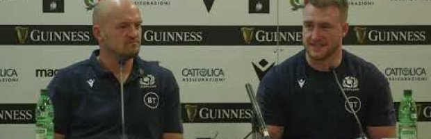Post Match | Gregor Townsend heaps praise on his captain Stuart