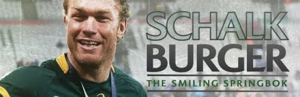 Schalk Burger | The smiling Springbok