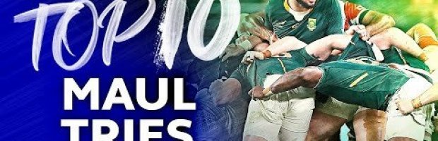 RUGBY'S BEST MAUL TRIES | Top 10 Tries at the Rugby World Cup