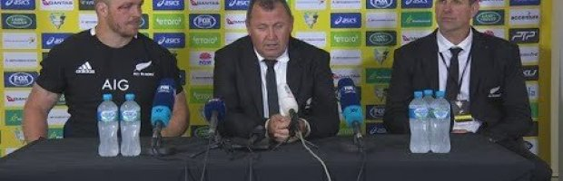 Bledisloe Cup Three: New Zealand press conference