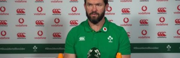 Andy Farrell Press Conference