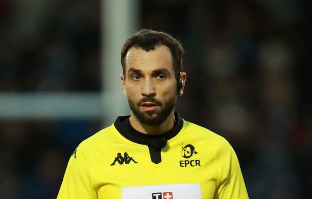 Champions and Challenge Cup Round 1 &2 Referee Appointments