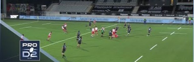 PRO D2 HIGHLIGHTS: Provence Rugby Vs Biarritz Olympique