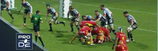 VIDEO HIGHLIGHTS: Valence Romans v Perpignan