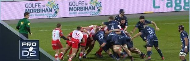PRO D2 Round 16 Highlights: Vannes vs Biarritz Olympique