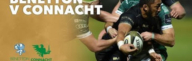 VIDEO HIGHLIGHTS: Benetton Rugby v Connacht Rugby