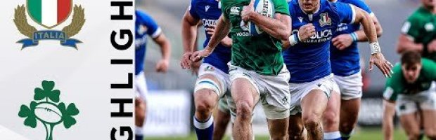 VIDEO HIGHLIGHTS: Italy v Ireland
