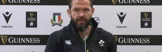 The Ireland Head Coach reflects on the Round 3 victory in Rome.