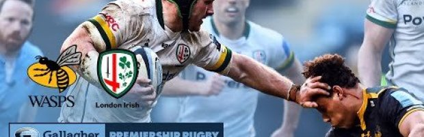 VIDEO HIGHLIGHTS: Wasps v London Irish